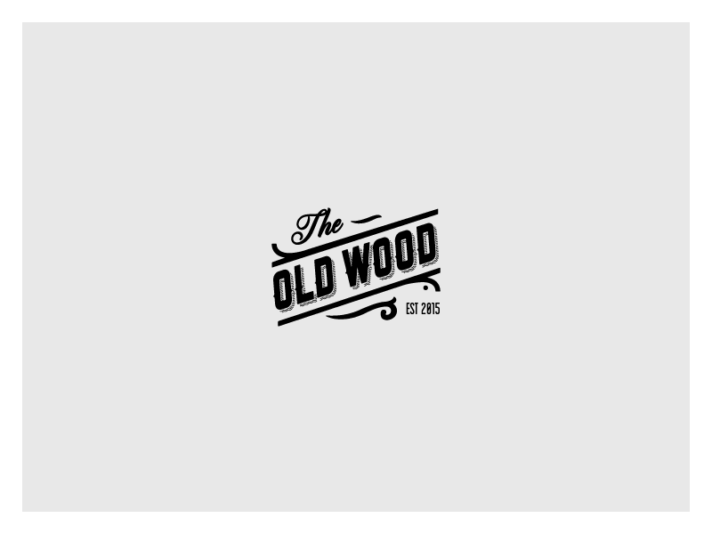Logo Study For A Furniture Company Specializing On Old And Reclaimed Woods