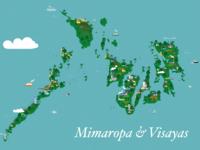Mimaropa & Visayas Map