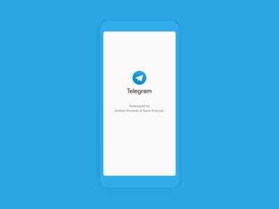 Telegram concept