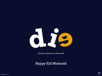 Eid Mubark (Covid) poster design design minimalist creative design eid eidmubarak typography poster typography design typography art