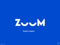 Zoom- Online Application user experience zoom creative direction minimalist poster idea minimal poster creative minimal typography art