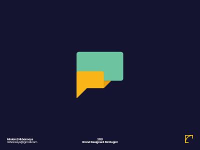 F Letter Exploration nkhansays design agency creative logo 36daysoftype icon f letter logo minimal chat app design monogram letter mark logos logo design