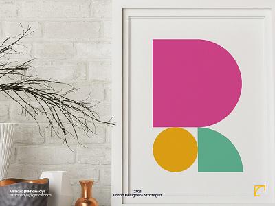 R Letter Exploration letter exploration 36daysoftype letter r geomatric branding agency branding design logo design abstract design abstract art letter art lettermark
