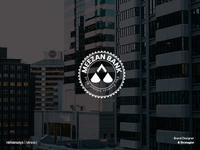Rebranding Pitch for Meezan Bank designer rebranding brand identity balance creative logo logodesign branding and identity branding design bank logo bank