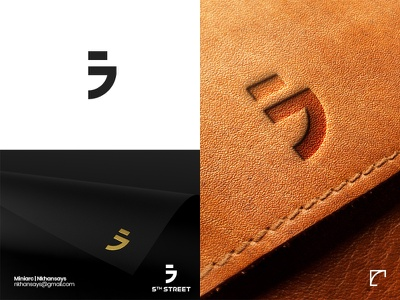 5th Street Emblem | Clothing Brand logo ideas logo inspiration creative logo branding minimal logo clothing brand emblem brand identity graphic design logo