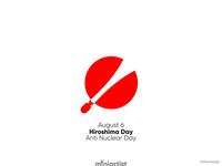Anti Nuclear Day - Hiroshima Day