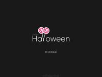 Halloween gift - Dribbble invitation