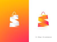 S Logo - [S + E-Commerce]