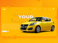 Car Customize - Concept Landing Page
