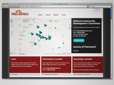 Trail of the Buffalo Home Page