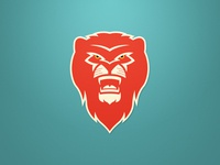 Lion Logo - Red