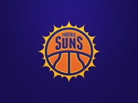 Phoenix Suns Rebrand Concept. Weekly Logo Project 12/52