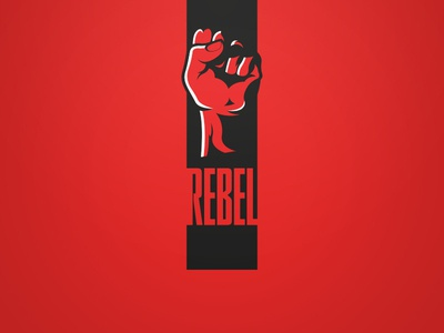 Rebel Logo - Red. Weekly Logo Project 13/52