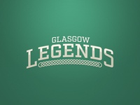 Glasgow Legends Logo. Weekly Logo Project 17/52