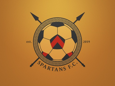 Spartans FC Logo. Weekly Logo Project 18/52