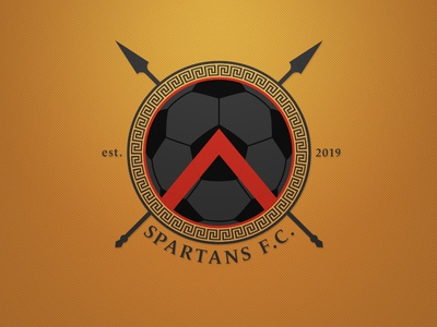 Spartans FC Logo - Dark. Weekly Logo Project 18/52