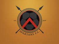 Spartans FC Logo - Dark. Weekly Logo Project 18/52