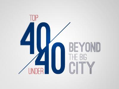 Alberta's Top 40 Under 40