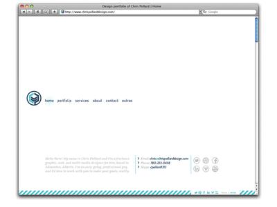 Chris Pollard Design Website