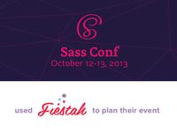 sassConf + Fiestah