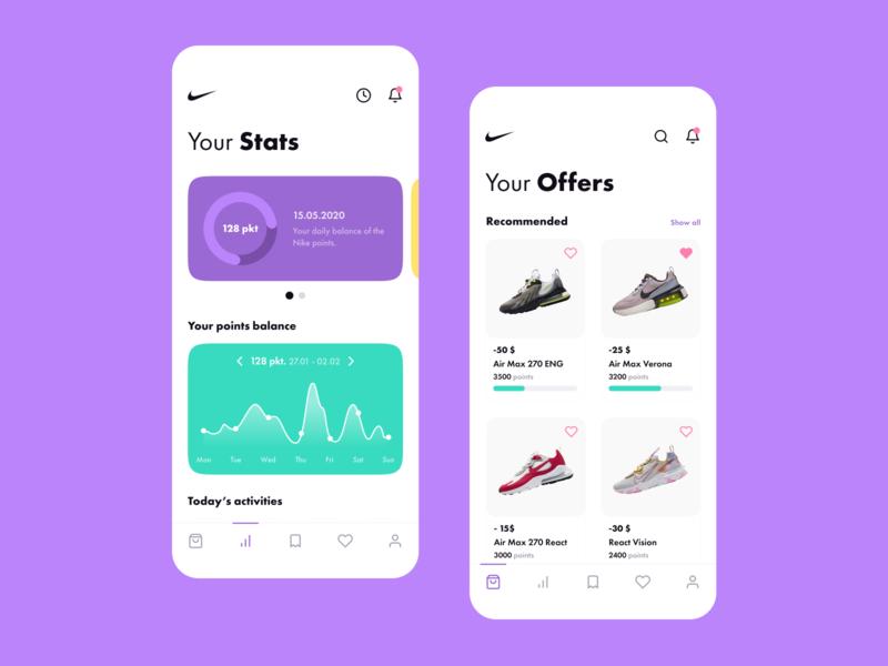 🥇 Nike Reward App