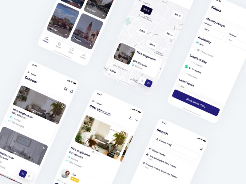 🏡 Room Rental App