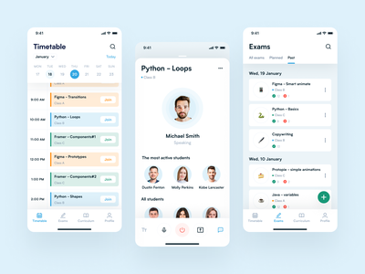 E-learning mobile app mobile app design mobile ui elearning courses teaching e-learning app concept application ux design app ux design uiux ui design ui
