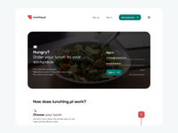 🍉 Lunching.pl - website redesign