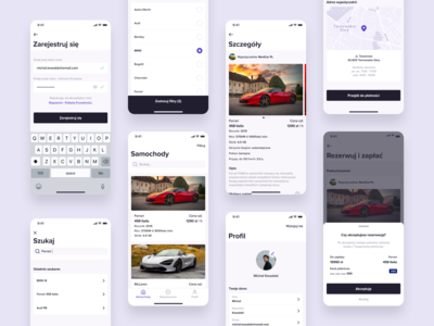 🚘 Car Rental App (MVP) - UX Case Study