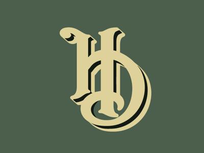 HD interlocking logo