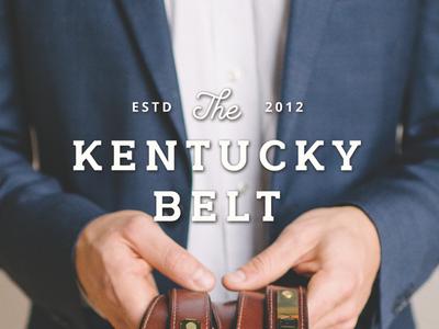 Kentucky Belt - Clayton & Crume