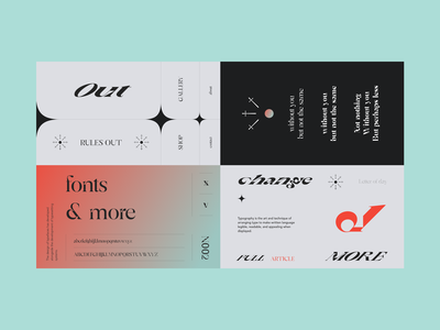 Typography Layouts poster design poster typeface typography webdesign web ux ui interface design