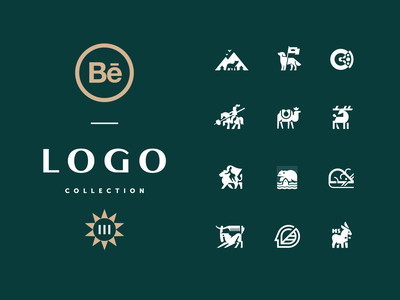 Logo collection III geometric animal geometric logo animallogo logobrand modern logo logocollection logofolio branding illustration graphicdesign logotype logo
