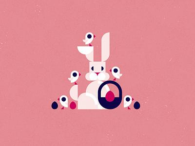 Easter chick holiday egg rabbit easter