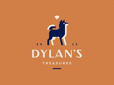 Dylan`s treasures diamond akita logo dog