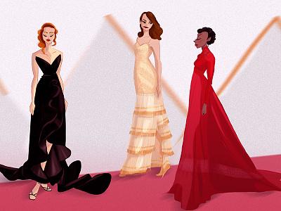 Divas dress blackdress bestpicture fancy academyawards oscars actress diva reddress dresses fashion