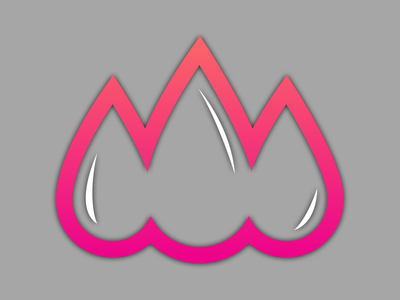 Drops logo concept logo design making branding brand design logo