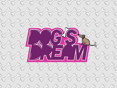 Dog's Dream design illustrator illustration graphic design logo design logo dribbble