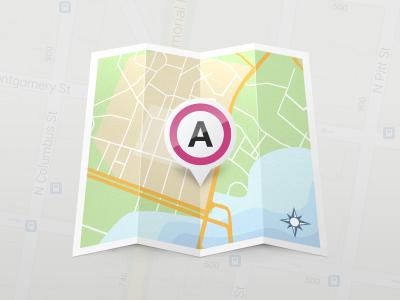 Dribble map