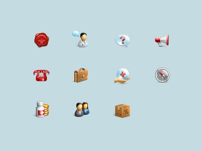 icons transparent