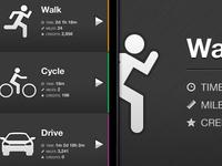 iPhone App Design / Home screen
