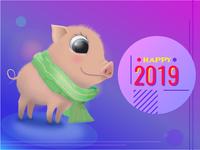 Happy new years piggy