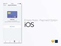 iOS - Empty State - Payment option
