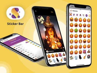 App iOS: Sticker Bar: Send Еmotions!