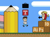 Pixel Banner