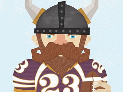 Vikings fan small