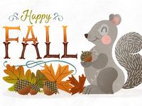 Fall full illustration