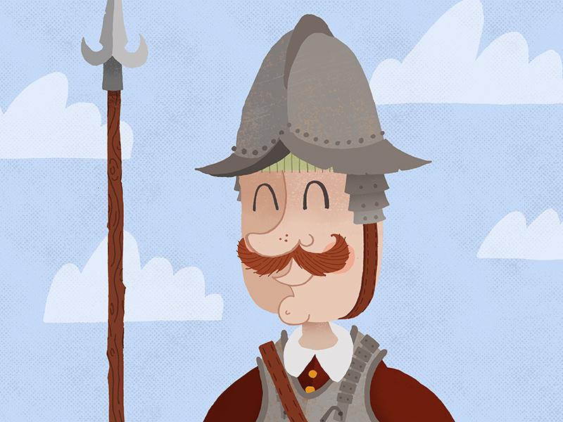 Pikeman pikeman illustration armor elizabethan