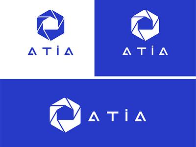 ATIA l building logo construction home logo branding design symbol