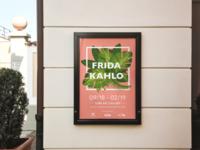 Frida Kahlo Exhibition Outdoor Poster
